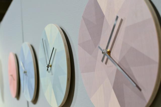 Flotte grafiske Otello ure i skønne farver fra novoform