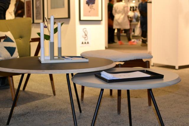Smukke around borde designet af dygtige Maja Bøgh Vindbjerg - nur.