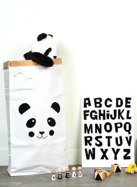 Skøn opbevaringspose - fås med forskellige motiver